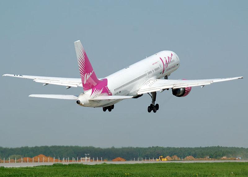 Компания «Вим-Авиа» зимой будет осуществлять полёты между Комсомольском и Москвой