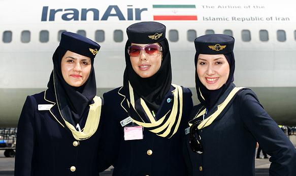 Стюардессы AirIran