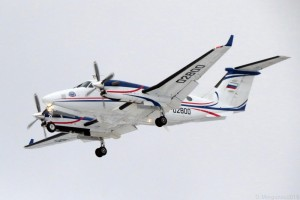 "Beechcraft King Air 350i RA-02800 ""Аэроконтроль"" ФГУП ""Госкорпорация по ОрВД"""