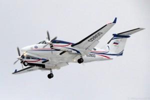 "Beechcraft King Air 350i RA-02800 ""Аэроконтроль"" ФГУП ""Госкорпорация по ОрВД"""