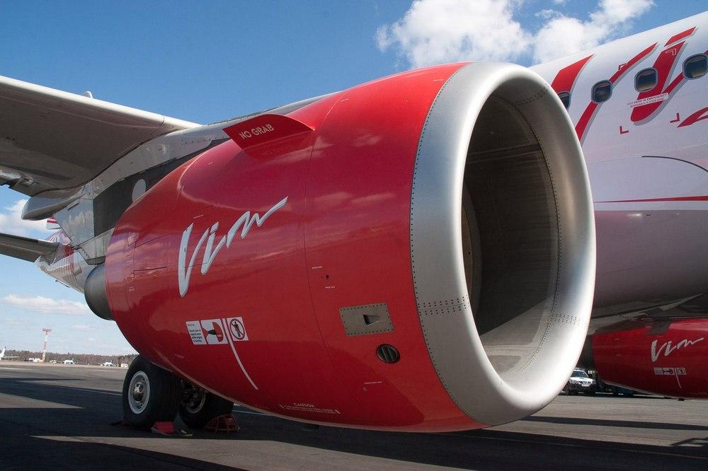 новый Boeing 777 «ВИМ-АВИА» прибыл в Домодедово
