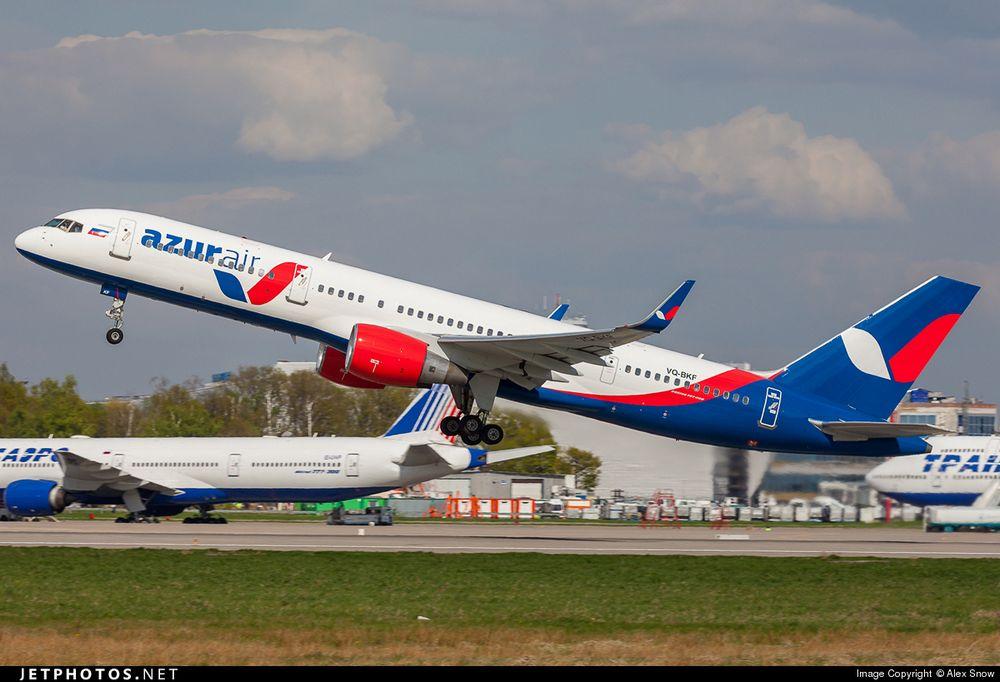 Авиакомпания Azur Air увеличила пассажиропоток на 16%