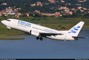 Первый рейс греческой компании Ellinair