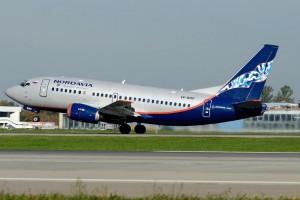 Нордавиа начала выполнять рейсы Москва - Махачкала