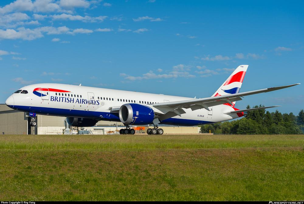 Авиакомпания British Airways намерена поставить Boeing 787 Dreamliner на линию Лондон - Москва.