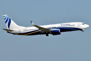 Авиакомпания NordStar выполнила первый рейс по новому направлению Красноярск – Полярный – Красноярск